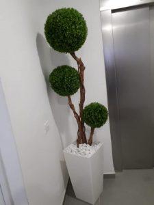 יופי בירוק - צמחיה מלאכותית ללובי 10